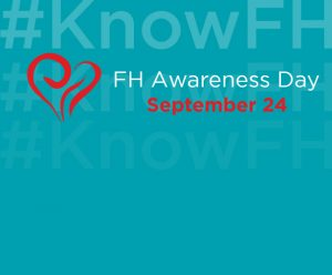 logo van de FH Awareness Day en de hashtag #KnowFH